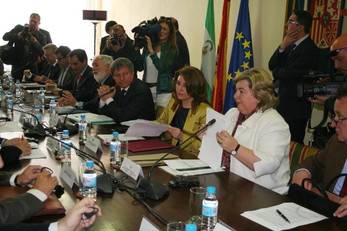 Reunión con el Comisario Europeo